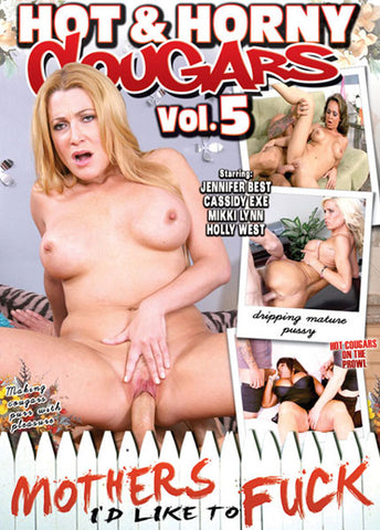 Cheap Hot & Horny Cougars 5 porn DVD