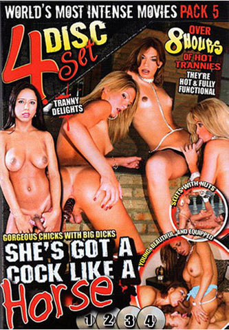 She's Got A Cock Like A Horse XXX Adult DVD