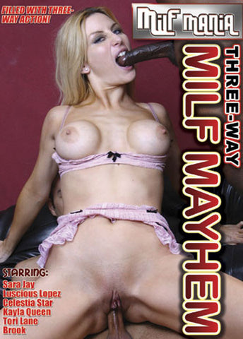 Cheap Three-Way MILF Mayhem 1 porn DVD