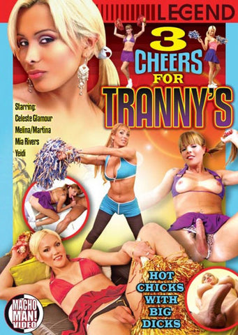 3 Cheers For Tranny's Adult Movies DVD