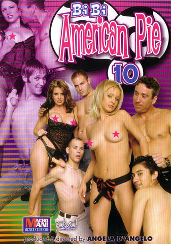 Bi Bi American Pie 10 Adult Movies DVD