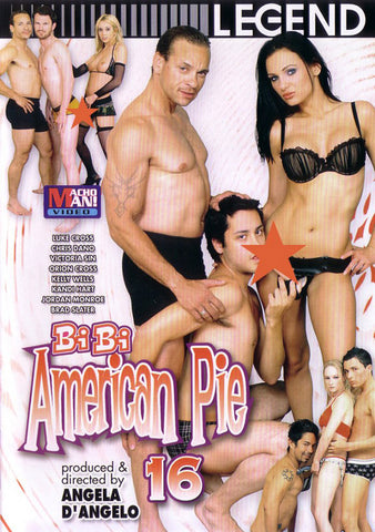 Bi Bi American Pie 16 Adult Movies DVD