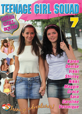 Cheap Teenage Girl Squad 7 porn DVD