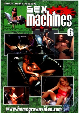 Cheap Sex Machines 6 porn DVD