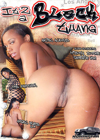 It'z A Black Thang 1 Adult Sex DVD