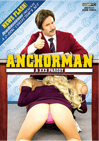 Cheap Anchorman: A XXX Parody porn DVD