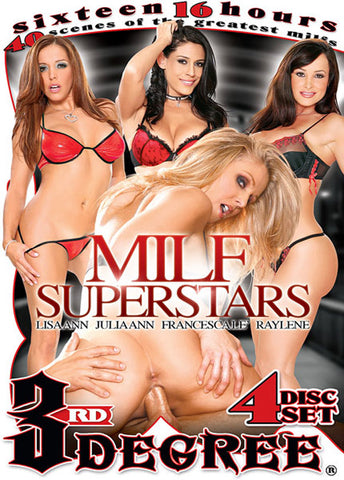 MILF Superstars (4 Disc Set) XXX Adult DVD