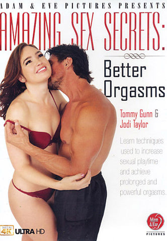 Cheap Amazing Sex Secrets: Better Orgasms porn DVD