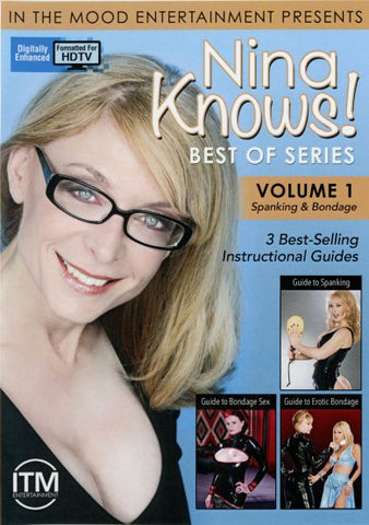 Cheap Nina Knows! Best Of Series: Spanking porn DVD
