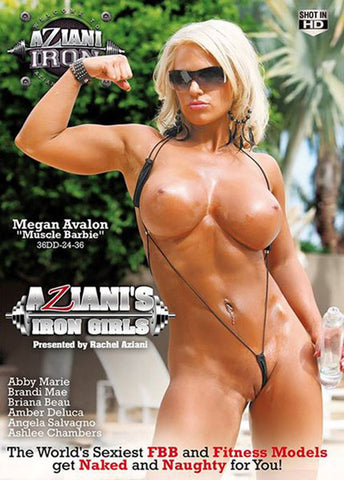 Aziani's Iron Girls Adult Movies DVD