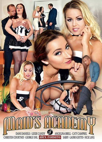Maid's Academy Adult Movies DVD