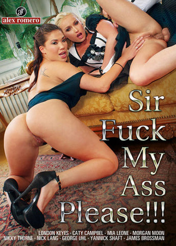 Sir Fuck My Ass Please Sex DVD