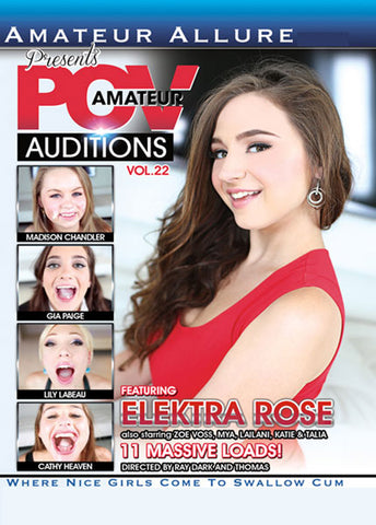 Cheap Amateur POV Auditions 22 porn DVD