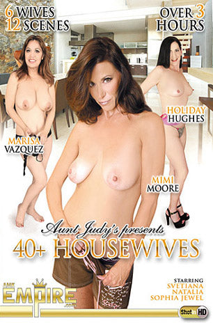 Cheap 40+ Housewives porn DVD