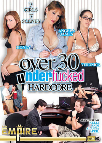 Cheap Over 30 Underfucked porn DVD