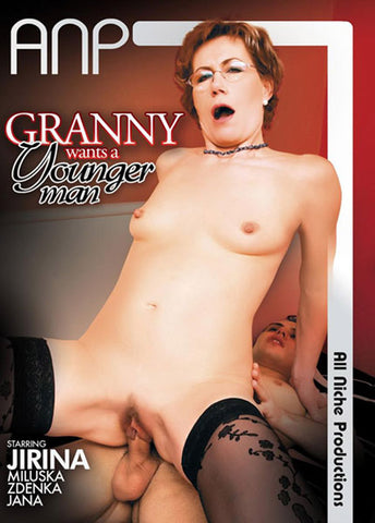 Granny Wants A Younger Man Sex DVD
