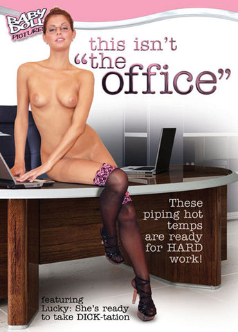 This Isn't The Office Porn DVD