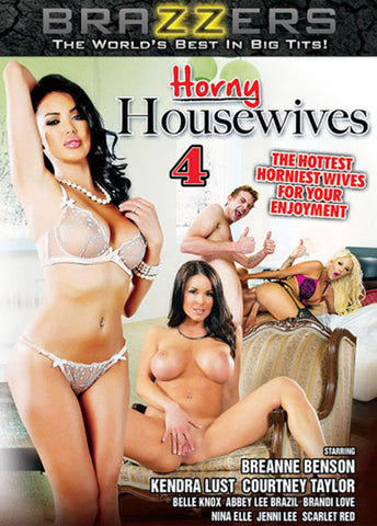 Horny Housewives 4 Porn DVD
