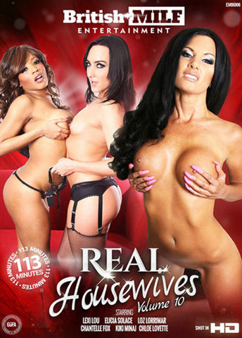Real Housewives 10 Sex DVD