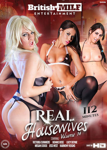 Real Housewives 14 Adult Movies DVD