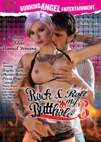 Cheap Rock & Roll In My Butthole 3 porn DVD