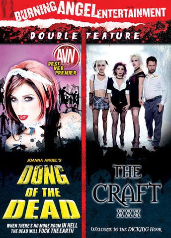 Cheap Dong Of The Dead/ The Craft XXX porn DVD
