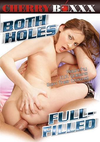 Both Holes Full-Filled Porn DVD