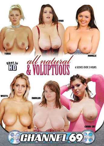 Cheap All Natural & Voluptuous porn DVD