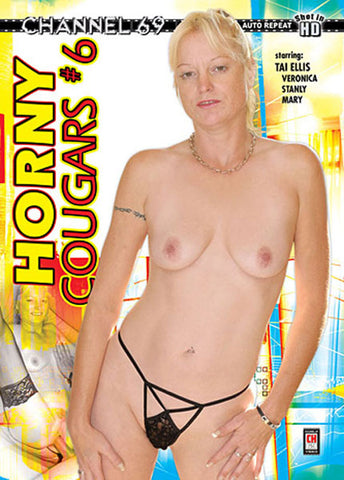 Horny Cougars 6 Adult DVD