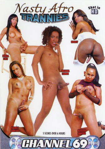 Cheap Nasty Afro Trannies porn DVD