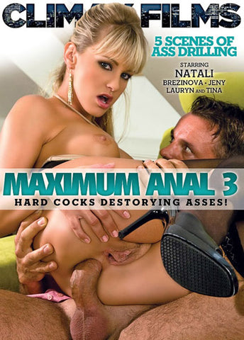 Maximum Anal 3 Sex DVD