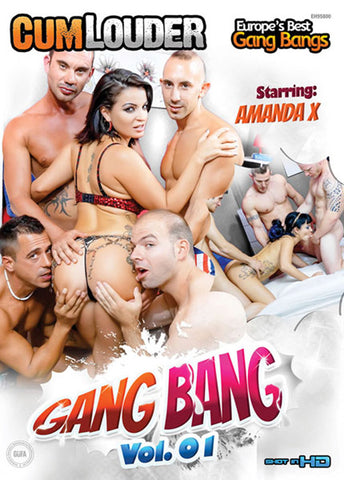 Gang Bang Adult Sex DVD