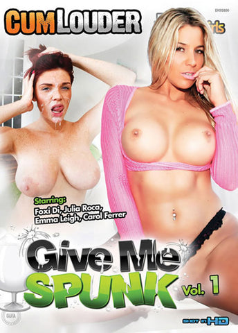 Give Me Spunk Sex DVD