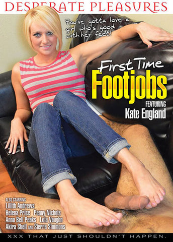 Cheap First Time Footjobs porn DVD