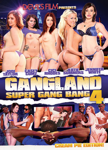 Cheap Gangland: Super Gang Bang 4 porn DVD