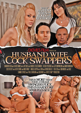 Cheap Husband-Wife Cock Swappers porn DVD
