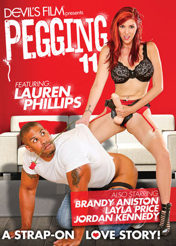 Cheap Pegging 11: A Strap On Love Story porn DVD