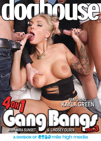 Cheap 4 On 1 Gang Bangs 3 porn DVD