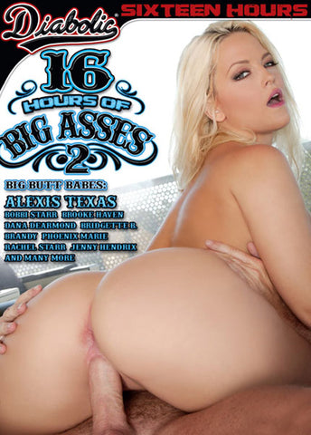 Cheap 16 Hours Of Big Asses 2 (4 Disc Set) porn DVD