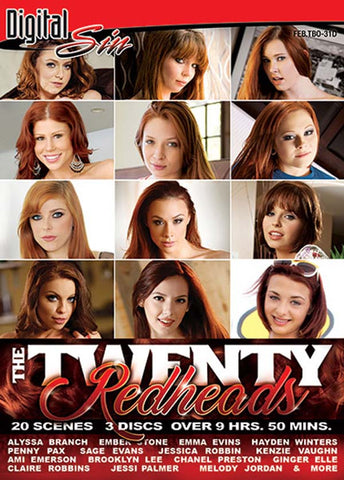 The Twenty: Redheads (3 Disc Set) Adult Movies DVD
