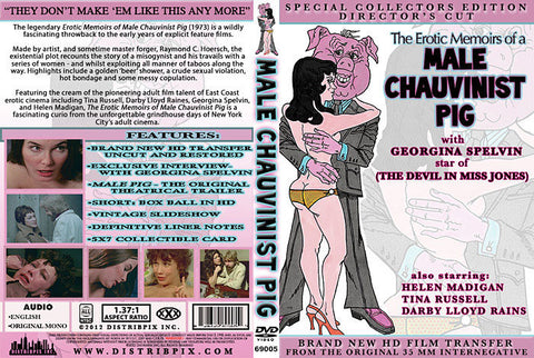 Cheap The Erotic Memoirs Of A Male Chauvinist Pig porn DVD
