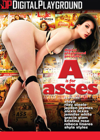 A Is For Asses XXX Adult DVD
