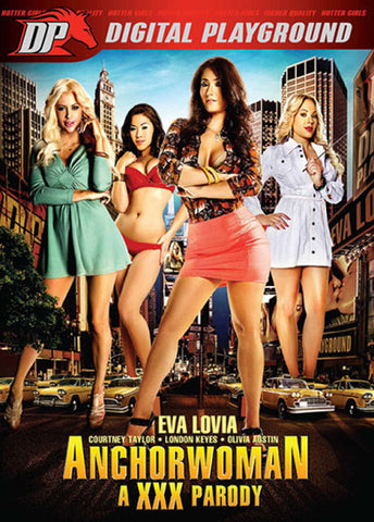 Cheap Anchorwoman A XXX Parody porn DVD