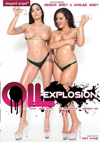 Oil Explosion Adult Sex DVD