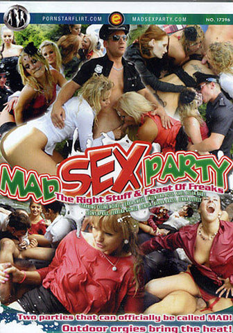 Cheap Mad Sex Party: The Right Stuff & Feast Of Freaks porn DVD
