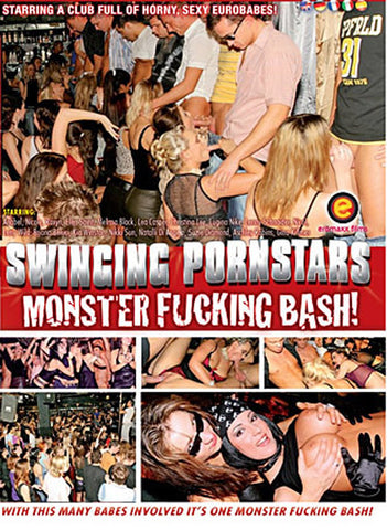 Swinging Pornstars 12: Monster Fucking Bash Adult DVD
