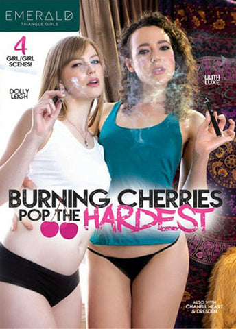 Burning Cherries Pop The Hardest Sex DVD