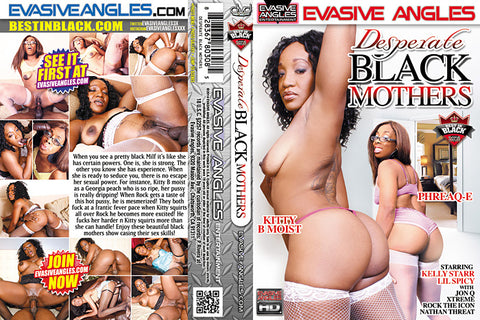 Cheap Desperate Black Mothers porn DVD