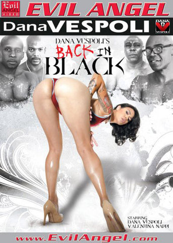Cheap Back In Black porn DVD
