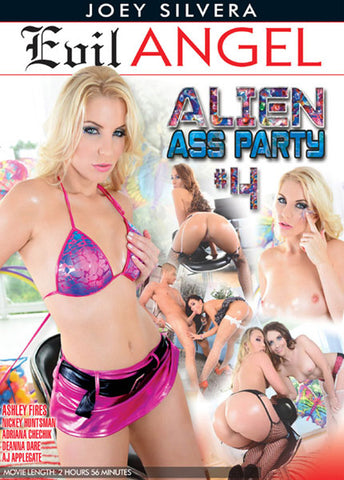 Cheap Alien Ass Party 4 porn DVD